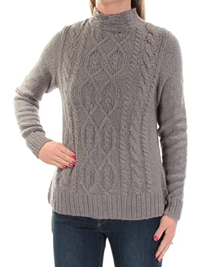 f06acd70034 Amazon.com  kensie Womens Cable Knit Sweater  Clothing