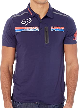 Pit HRC Tech SS Polo [Fox-Honda, NAVY] Premium (L): Amazon.es ...