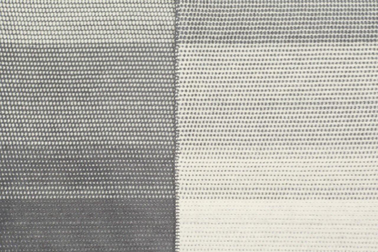 Ibena Jacquard Bettüberwurf Egersund grau   220 x 260 cm