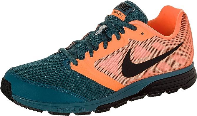 1363O sneaker uomo NIKE ZOOM FLY arancione/verde petrolio shoe men ...
