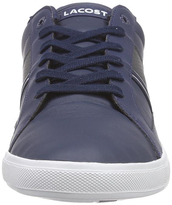 Lacoste Europa Lcr3, Zapatillas para Hombre, Azul (NVY/DK GRY 8F7), 42.5 EU: Amazon.es: Zapatos y complementos