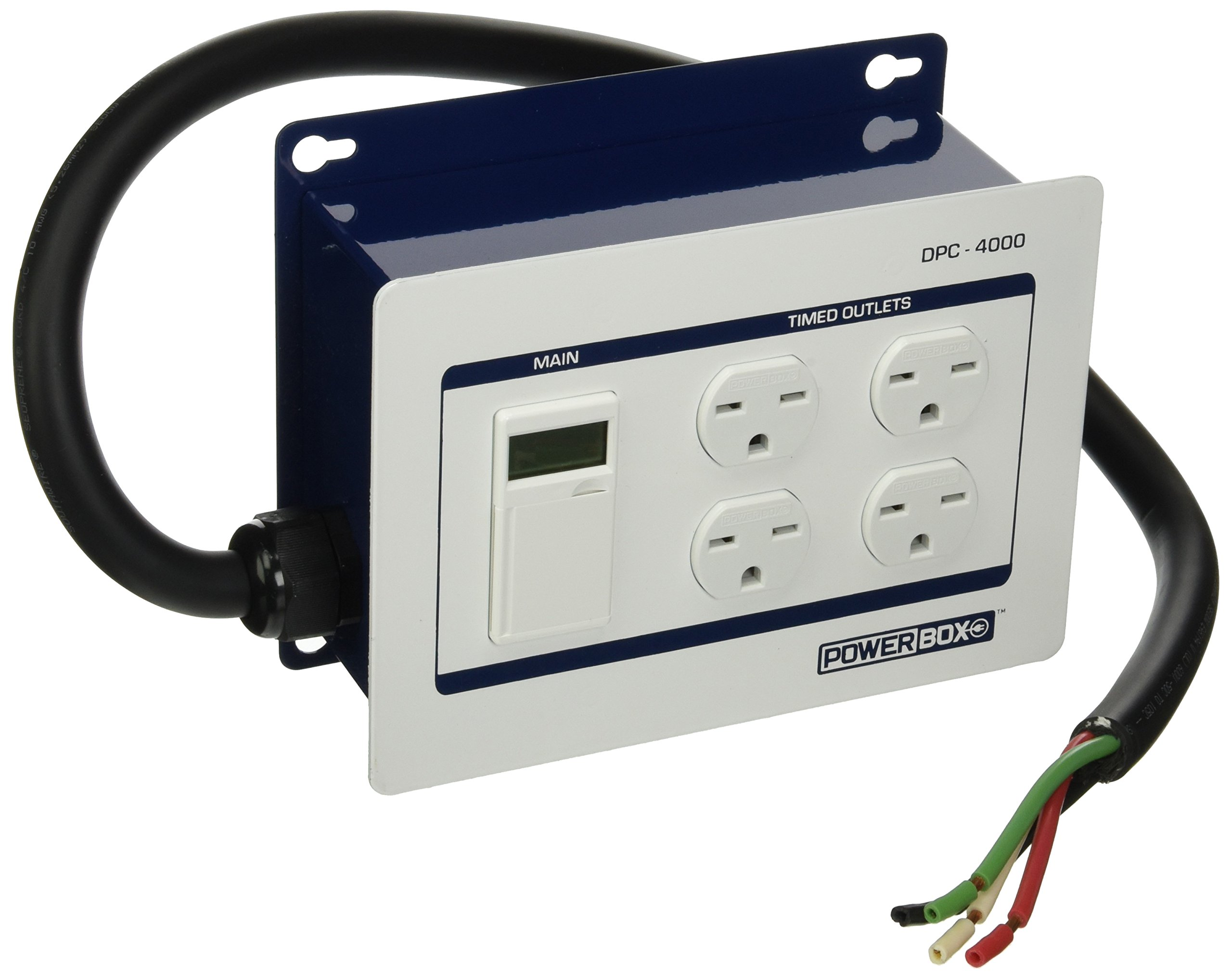 Power Box DPC-4000-240V-4HW (30Amp, Four 240V Outlets) Hardwire, 4 Wire