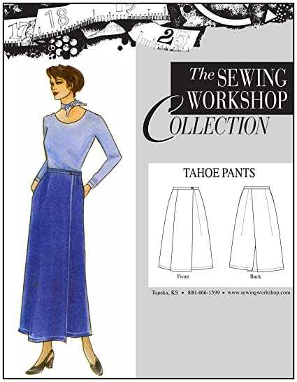 Amazon The Sewing Workshop Tahoe Pants Sewing Template Multi Size