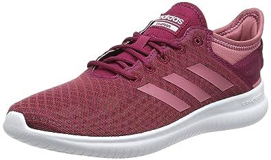 on sale 6102d 34a64 adidas Damen Cloudfoam QT Flex Gymnastikschuhe Pink (Mystery Ruby F17Trace  Maroon),