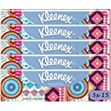 Kleenex Fazzoletti Collection Limited Edition, 5 confezioni da 15 pacchetti