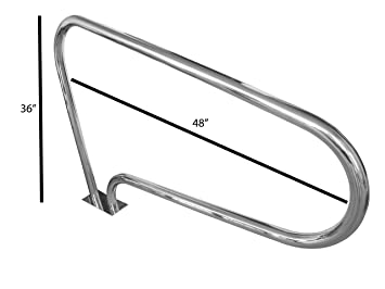Amazon.com: FibroPool - Barra de mano para piscina con base ...