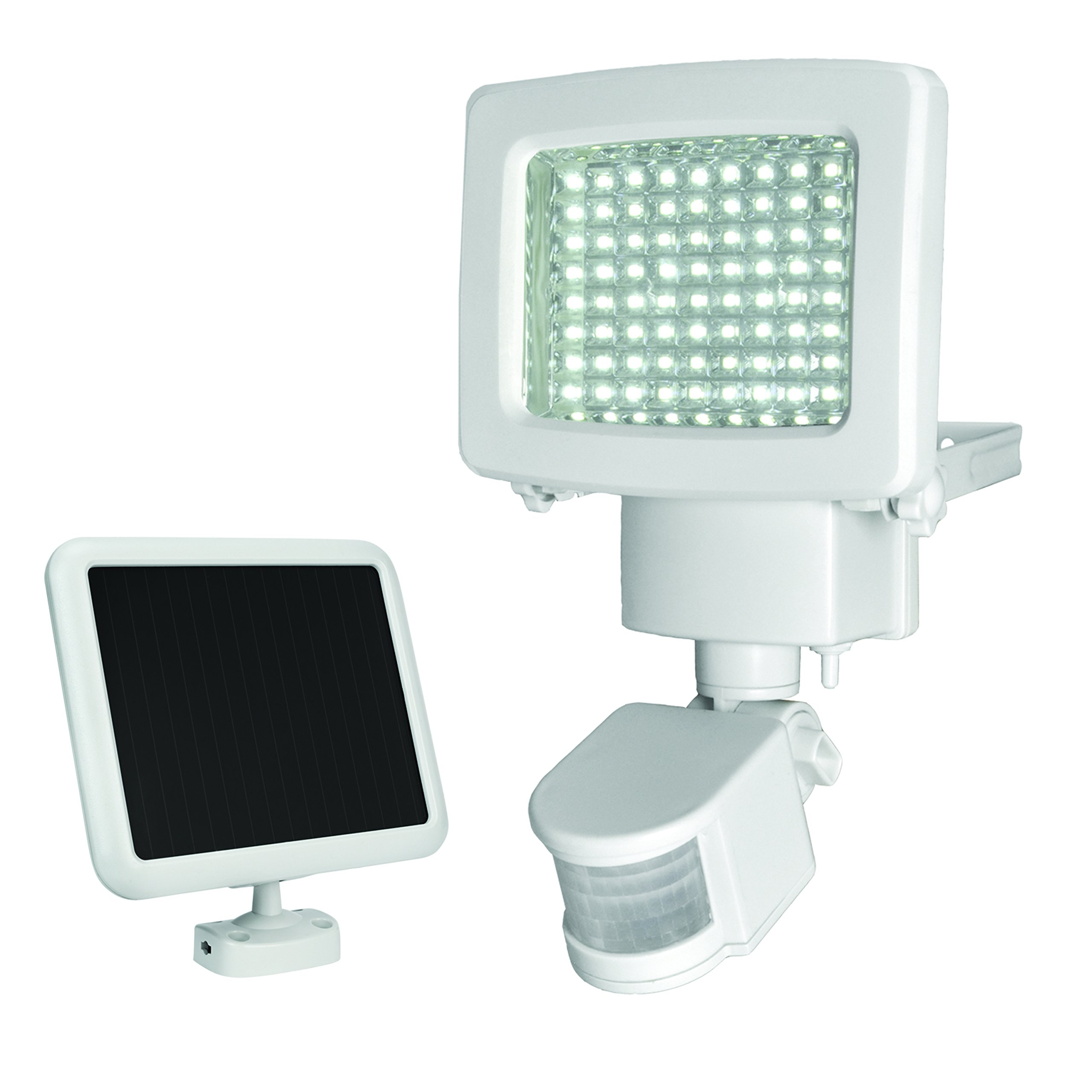 Outdoor Security Lights With Sensor Argos: Sunforce 80 LED Solar Motion Light.