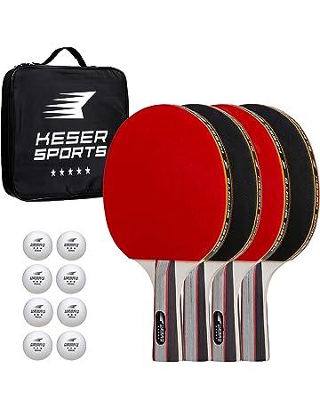 Keser Sports Ping Pong Paddle Set 3759e585bbaf2