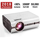 Amazon Price History for:Projector, 2018 Upgraded (+80% Lumens) Crenova XPE496 1080P HD Home Portable Video Projector (for PC/MAC/TV/Movies/Games/Outdoor with USB/SD/AV/HDMI/VGA Input)