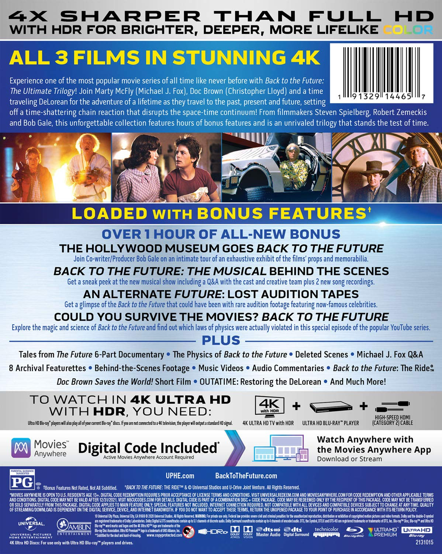 Regreso al futuro: la trilogía definitiva [Blu-ray]