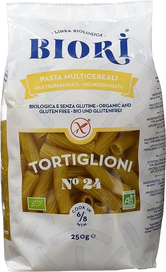 Biori Tortiglioni Multicereales - Paquete de 12 x 250 gr ...