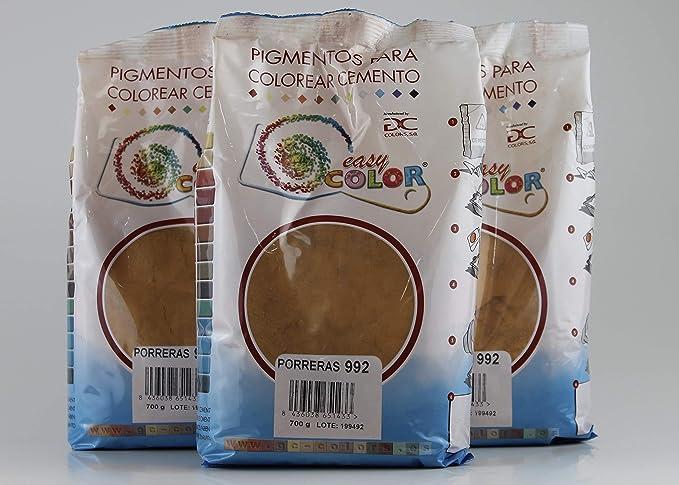 KITS tres bolsas de 900 g. Easy Color pigmento Porreras 992 ...
