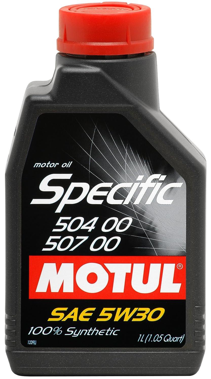 MOTUL 101474 antifricción Specific 504 00 - 507 00 5 W DE 30 1 L: Amazon.es: Coche y moto