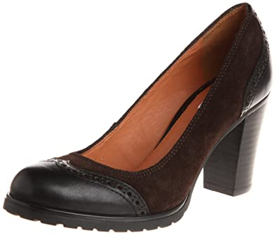 76c488b008 Geox Women s Do-167 D.Trish ABX M Court Shoes Brown Black Coffee ...