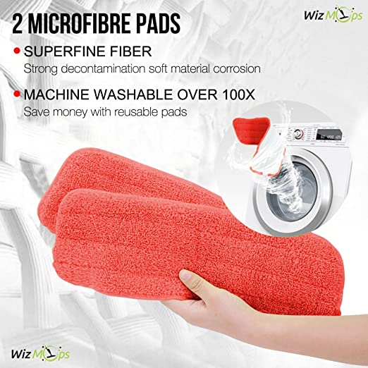 Spray Mop & Window Cleaner kit | Almohadilla de microfibra ...