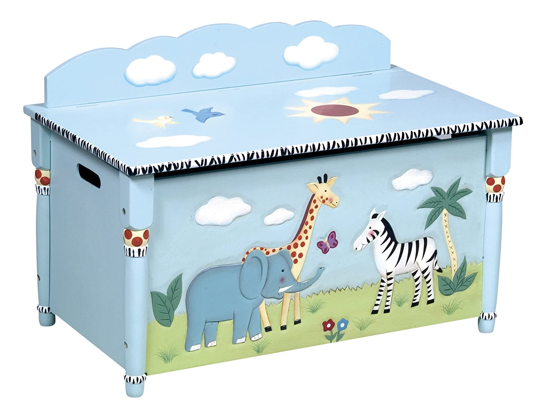Amazon.com: Guidecraft Safari Collection Toy Box: Toys & Games