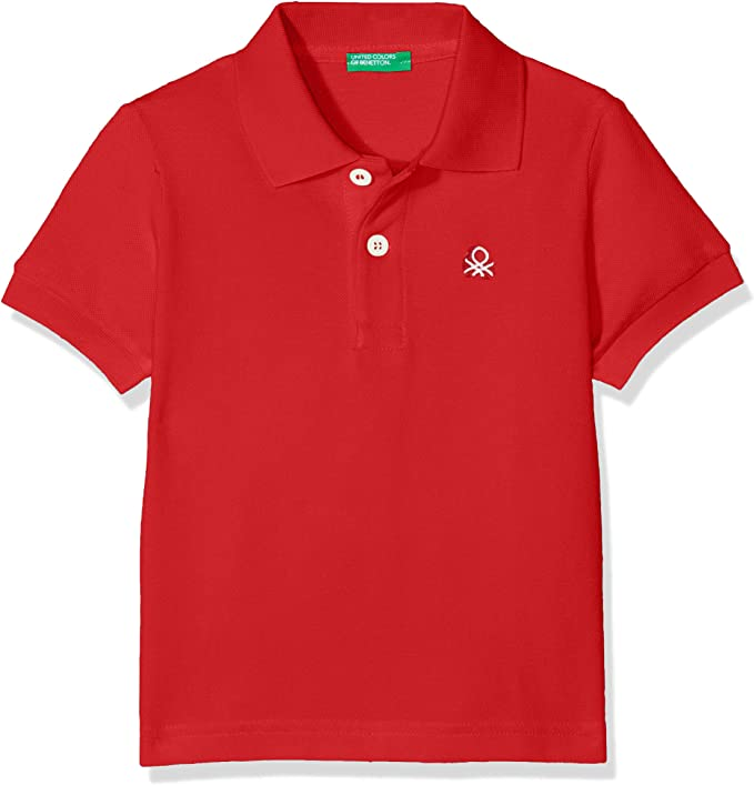 United Colors of Benetton H/s Polo Shirt, Rojo (Rossol 015), Talla ...