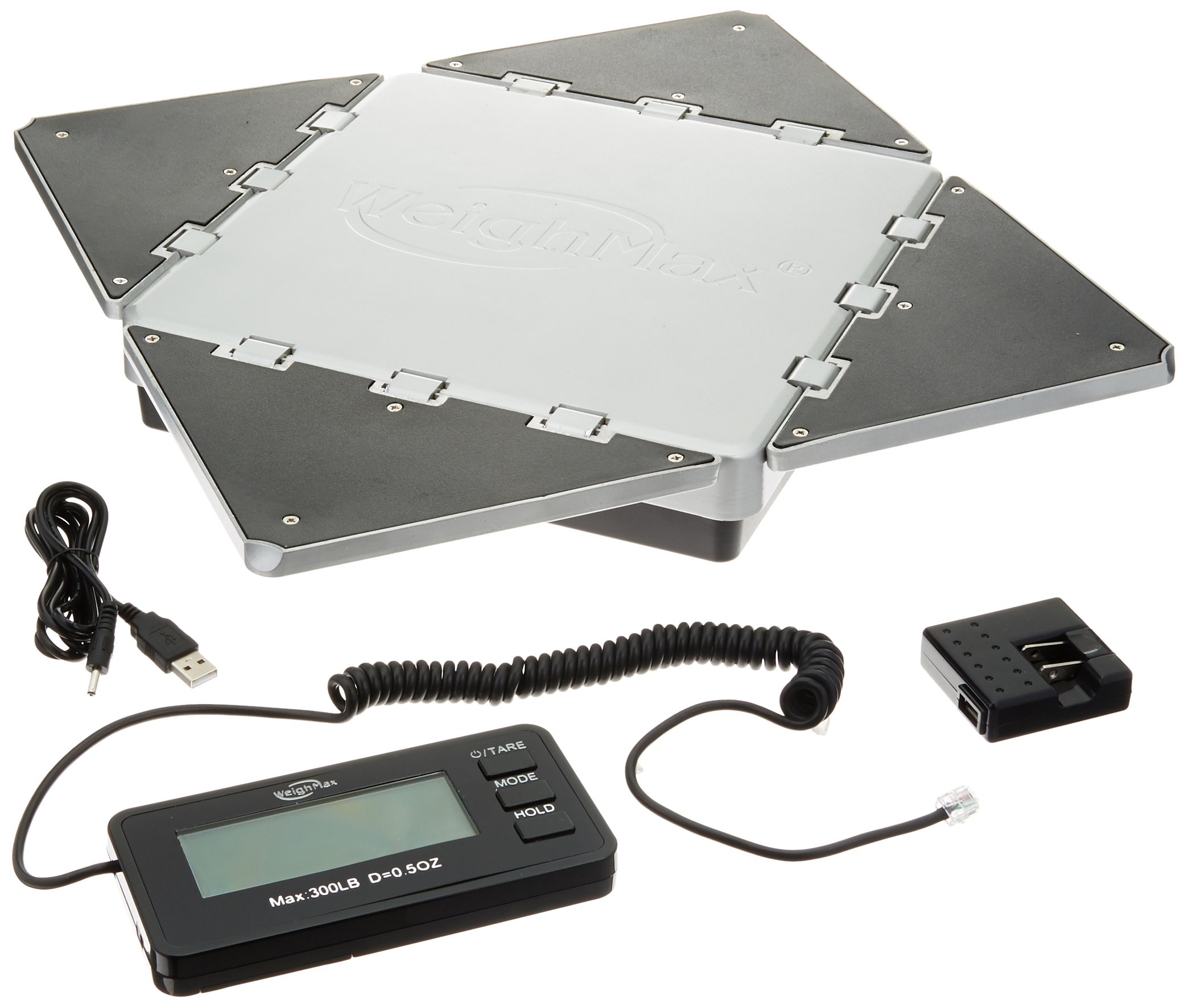 No1. Best Scale-Weighmax Transformer Digital Metal-Built shipping postal scale, 300lbs by 0.02lb
