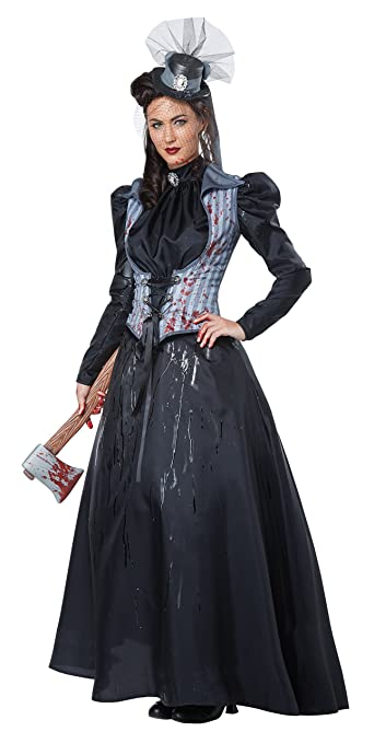 Victorian Clothing, Costumes & 1800s Fashion California Costumes Womens Lizzie Borden/Axe Murderess $38.01 AT vintagedancer.com