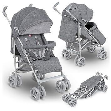 Carrito con capazo, cochecito de bebé Irma color gris ...