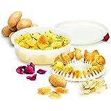 Tescoma Purity Microwave Cuoci Patate, Bianco
