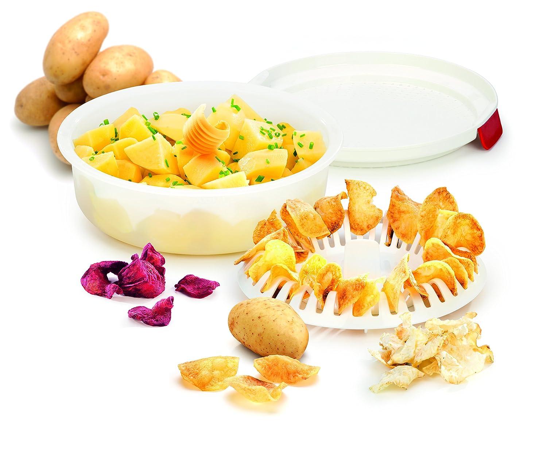 Tescoma Purity Microwave Cuoci Patate, Bianco T705022