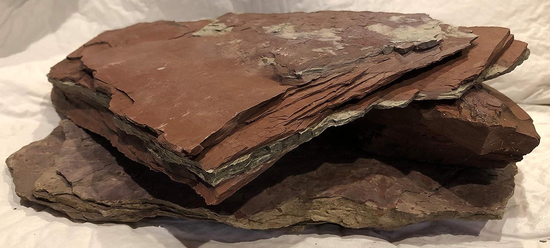 Amazon.com : Aquarium Safe Natural Stone Slate and Shale Iwagumi Aquascaping Assortment, Organic Terrarium, Cichlid Aquarium : Pet Supplies