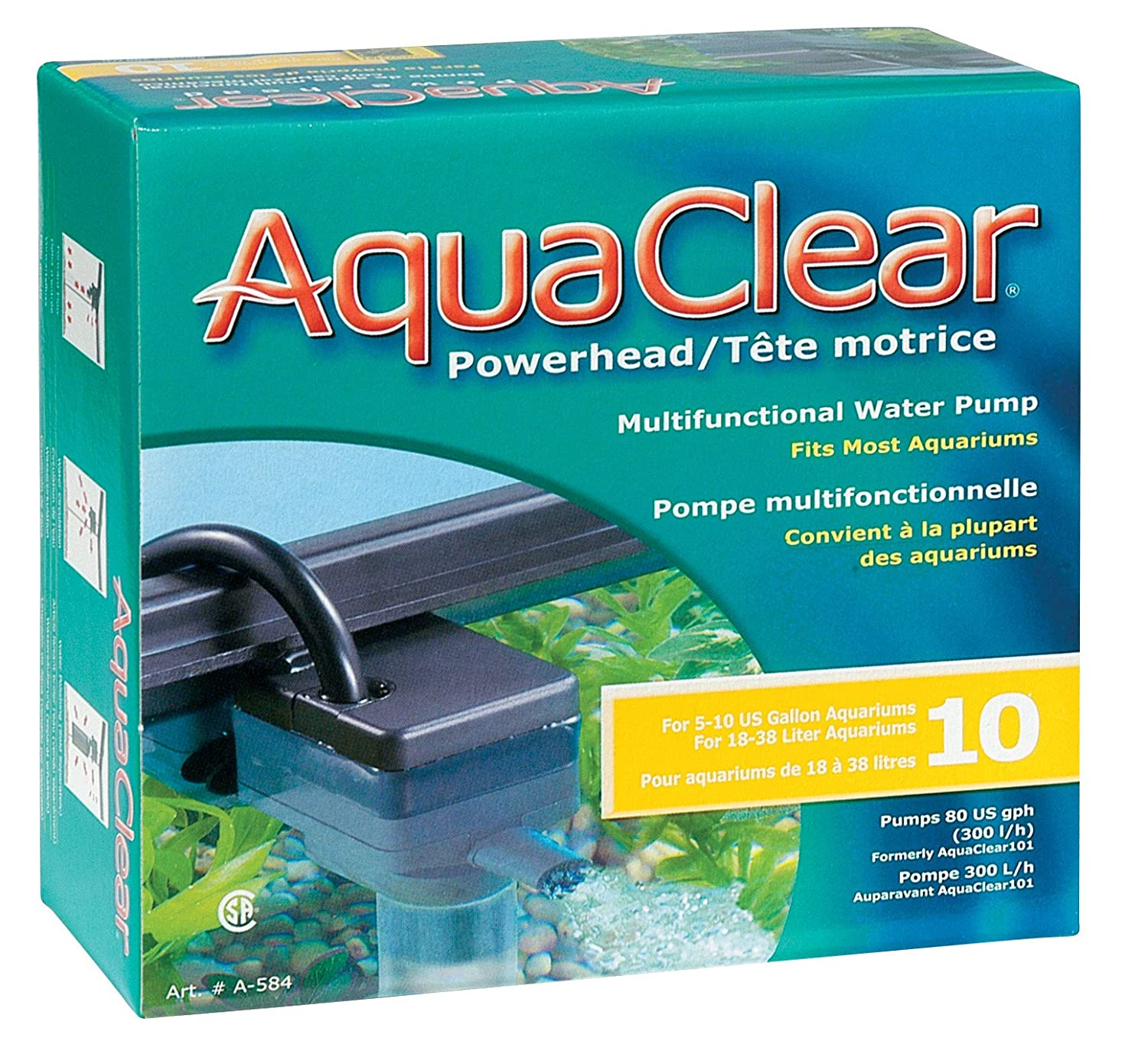Image result for aqua clear 10 gallon
