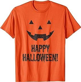 Happy Halloween Shirt a happy pumpkin tee