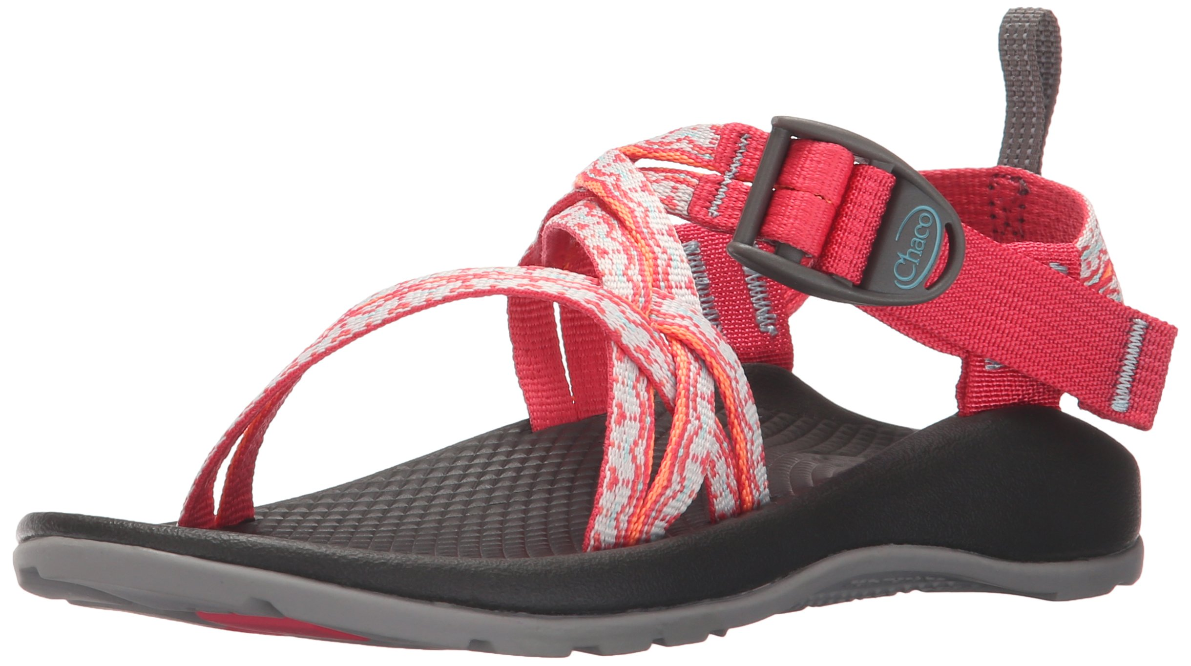 Chaco ZX1 Ecotread Kids Sport Sandal (Toddler/Little Kid/Big Kid), Chantilly Rouge, 12 M US Little Kid