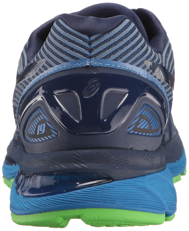 Asics Nimbus Gel De Los Zapatos Corrientes De Los Hombres - 19 Azules iUbs70