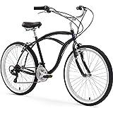Firmstrong Urban Man Beach Cruiser Bike, Mens Bicycle