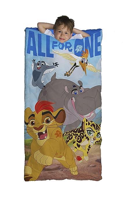 4fd603c37e9 Amazon.com  Disney Junior Lion Guard All for One Slumber Bag  Home ...