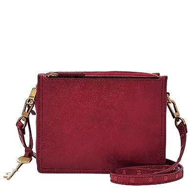 Online-Verkauf neuer & gebrauchter designer beliebt kaufen Fossil Damen Tasche Campbell-Crossbody Umhängetasche, 6.1x15.2x19.7 cm