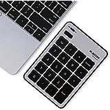 エレコム テンキーボード Bluetooth パンタグラフ Mac対応 薄型 シルバー TK-TBPM01SV