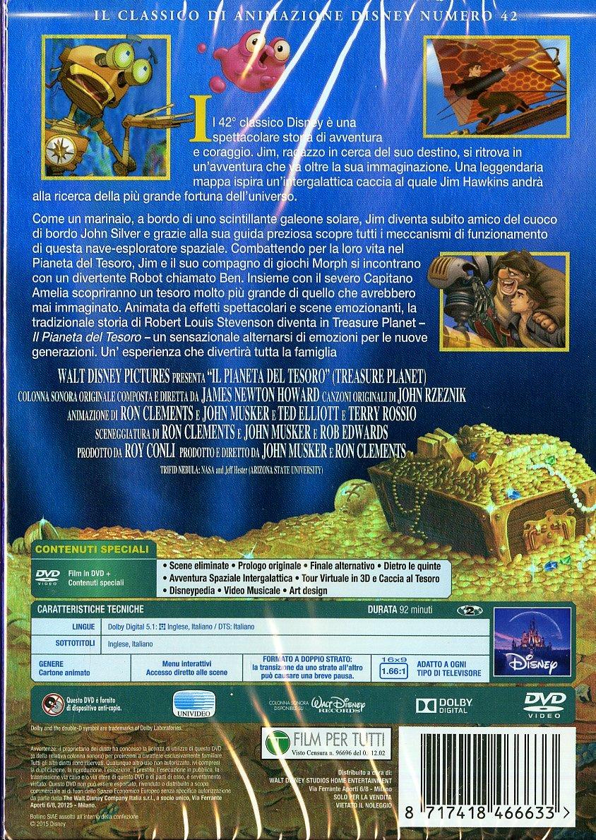 Il Pianeta Del Tesoro [Italia] [DVD]: Amazon.es: James Newton Howard, Ron Clements, John Musker, James Newton Howard: Cine y Series TV