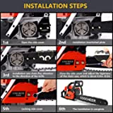 attempting 58CC Gas Engine 20 Inch Guide Board