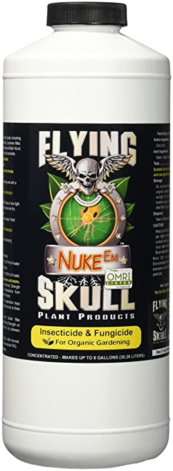 Amazon.Com : Flying Skull Nuke Em Pest Control, 1-Quart : Home And