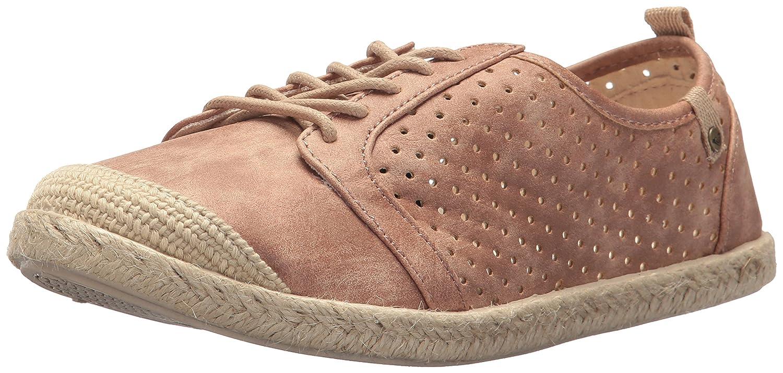 Roxy Women's Flora Lace up Slip on Shoe Sneaker B071GRP1LL 8.5 B(M) US|Rose