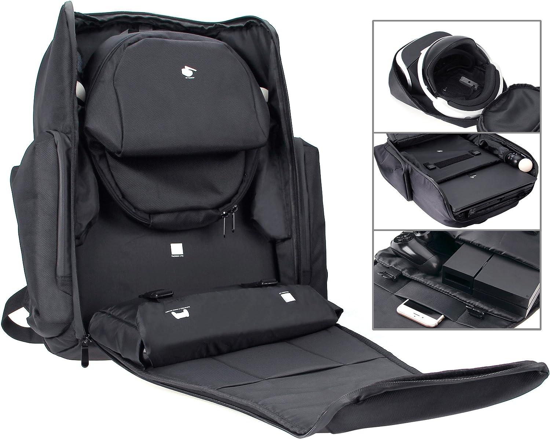 AmazonBasics - Mochila para PlayStation 4 y auriculares de realidad virtual para PlayStation: Amazon.es: Electrónica
