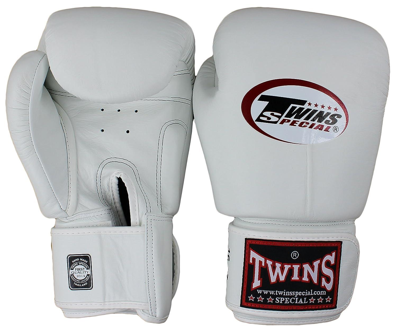Twins ボクシンググローブ 本革製 子供用 ホワイト 12 oz