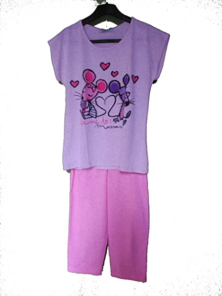 Pijama de verano niña Massana mod p161112 (12)