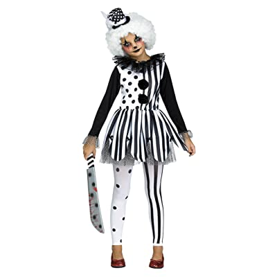 Fun World Killer Clown Child Costume: Toys & Games