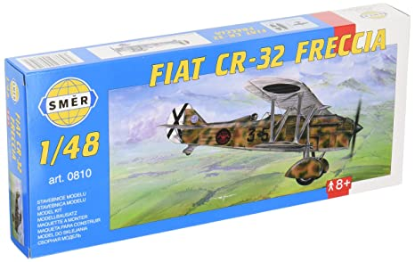 Amazon.com: Sema 1/48 Fiat CR-32 Furetchia Biplane Fighter ...