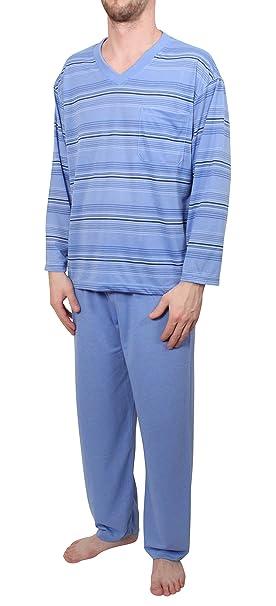 Classic - Pijama - para hombre azul claro XXX-Large