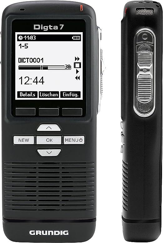 Grundig Digitales Diktiergerät Digta 7 Pdm7020 12 Handdiktiergerät Inklusive Diktiersoftware 160 X 160 Pixels Bürobedarf Schreibwaren