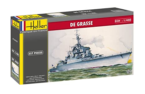 Amazon.com: 1:400 Heller De Grasse Warship Model Kit: Toys ...