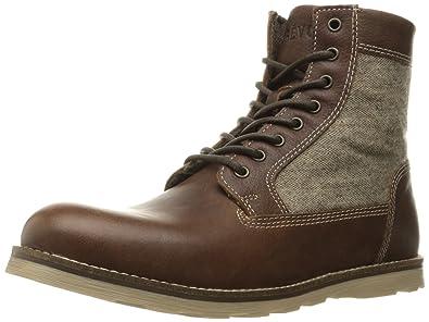fe944339048 Amazon.com   CREVO Men's Trilby Winter Boot   Shoes