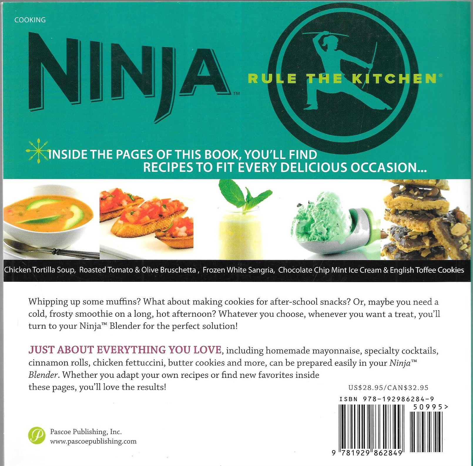 Ninja Blender Cookbook Breakthrough Blending! 150 Delicious Recipe ...
