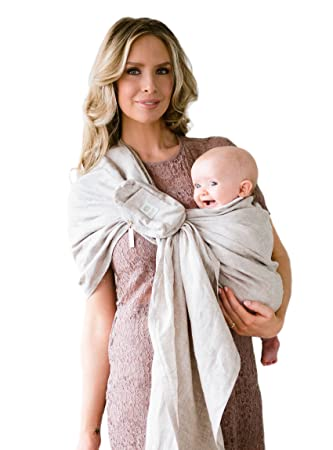 ff42c8c3d0d Amazon.com   Ring Sling w  Removable Pocket by LILLEbaby - Golden Harvest  (Natural)   Baby